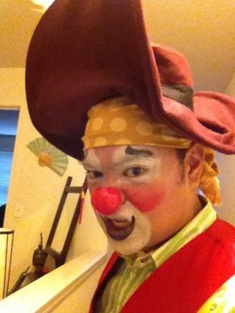 Arrr! My custom pirate look.