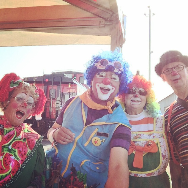 With Big Foot Clown Alley