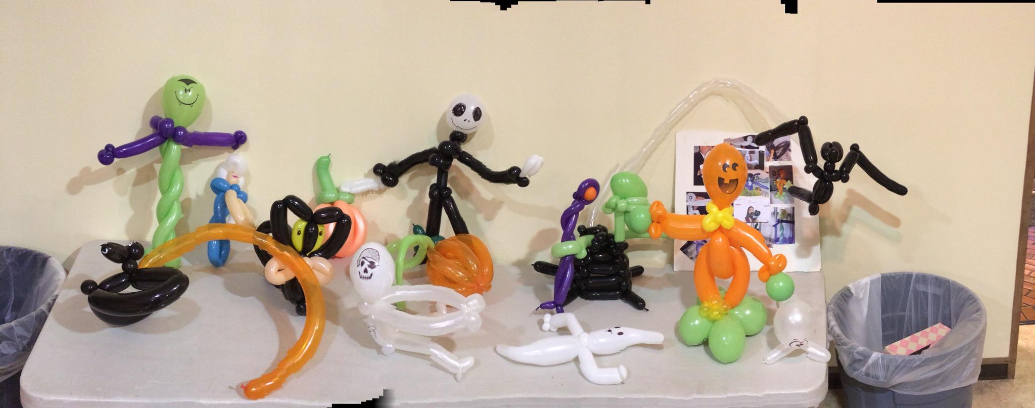 halloween balloons - Halloween Balloon Animals
